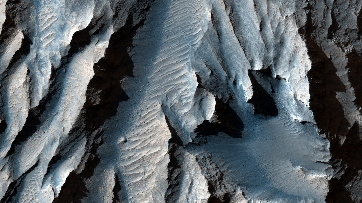 Mars Valley is larger than the Grand Canyon, and it is the largest in the solar system: NASA