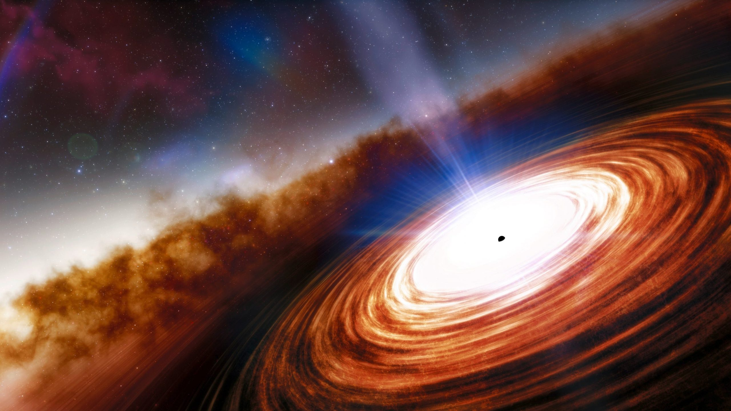 Discover the oldest and most distant quasar and a supermassive black hole
