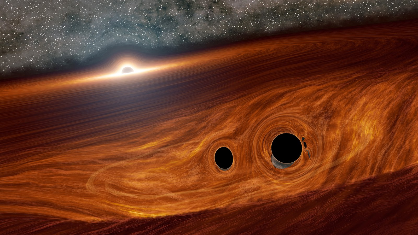 Astronomers see a hint of the gravitational-wave background of the universe