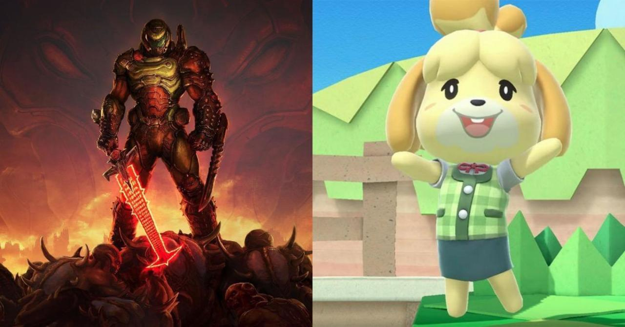 Bethesda Celebrates DOOM's Connection With Animal Crossing: New Horizons