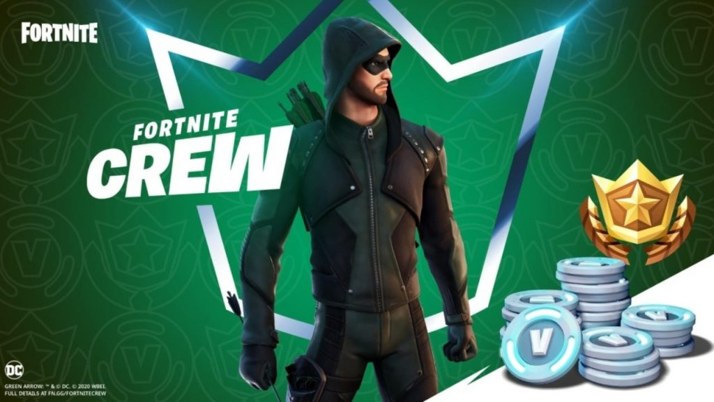 Fortnite fans celebrate the Green Arrow Crew Pack