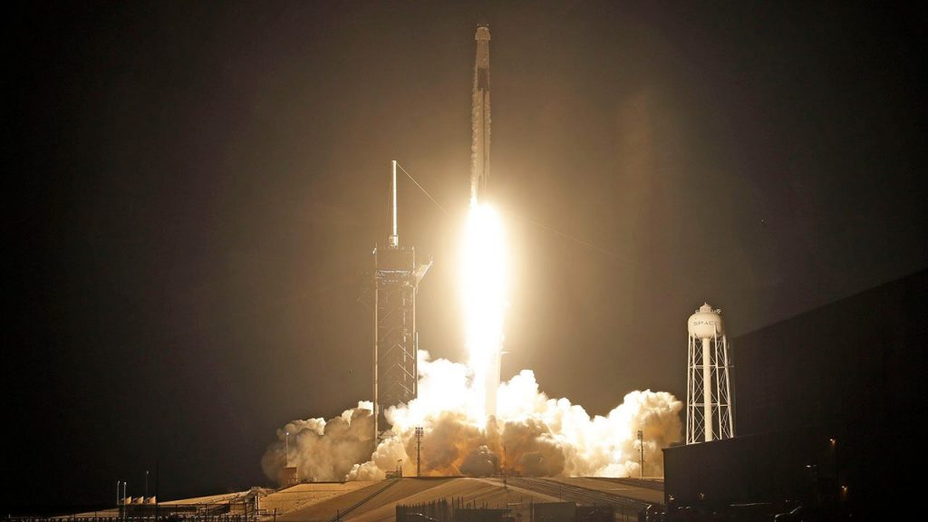 SpaceX completes 2021 first rocket launch by sending communications satellite