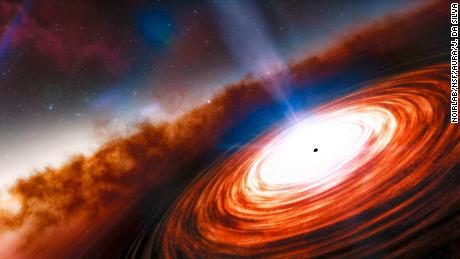 Discover the oldest quasar and supermassive black hole in the distant universe